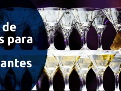 gestão de eventos em restaurantes e bares